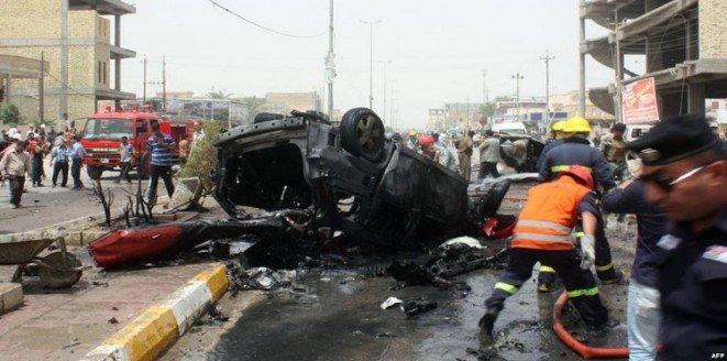 تفجيرات بعقوبة العراقية تودي بحياة 60 شخصاً #العراق