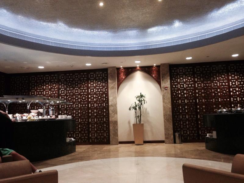 الظبي Aldhabi Lounge في مطار #أبوظبي الدولي - صورة ١
