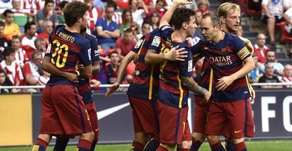 #برشلونة ينجو من كمين #بيلباو بهدف وحيد