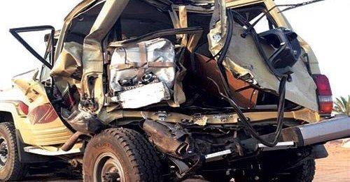 سيارة السعودي #عبدالله_العطاس الذي توفى قبل زفافه بساعات