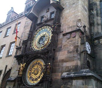 الساعة الفلكية #براغ #التشيك