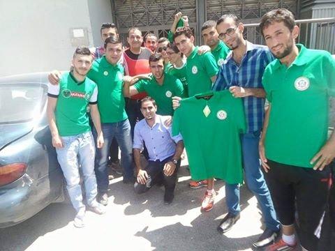 رابطة مشجعين الوحدات تبدأ بالعمل في استاد عمان للتجهيز للتيفو الكرنفالي #الوحدات