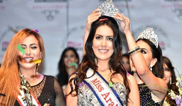 السورية فابيولا الإبراهيم ملكة جمال العرب في #أمريكا لعام ٢٠١٥ - صورة ٣