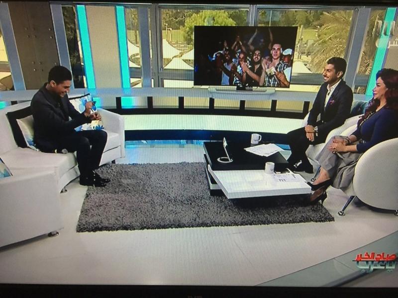 مقابلة #محمد_عساف على ام بي سي ورسائل أصدقاء ومعجبي محمد عساف -9