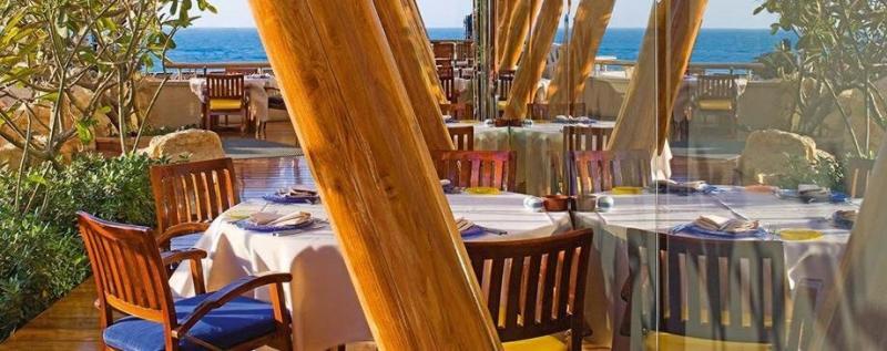 مطعم باب اليم - فندق #برج_العرب #دبي ٢