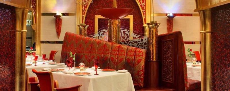 مطعم الإيوان - فندق #برج_العرب #دبي