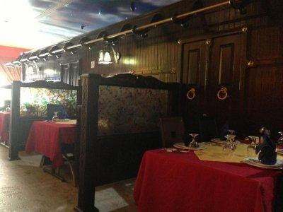 مطعم بوابة قصر الجزيرة - عبدالله بن سليمان الحمدان - العليا #الرياض