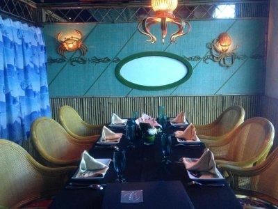 مطعم بننسولا - تميمي مول - طريق الملك فهد #الرياض