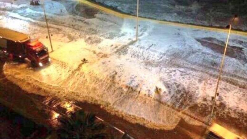 صور أولية متداولة من زلزال تشيلي المدمر #Chile