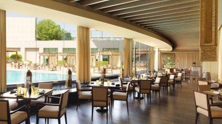 مطعم ذي جريل ريستوران أند تراس مركز المملكة - طريق العروبة - العليا #الرياض