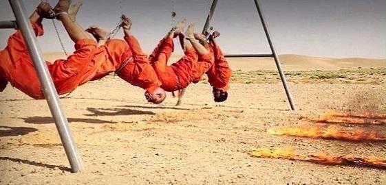 #داعش الارهابية تقتل حرقا ثلاث أخوة ووالدهم من عائلة الكبيسي العراقية - صورة ٢