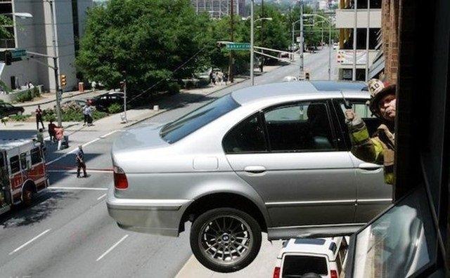 حوادث سيارات عجيبة #غرد_بصورة -2