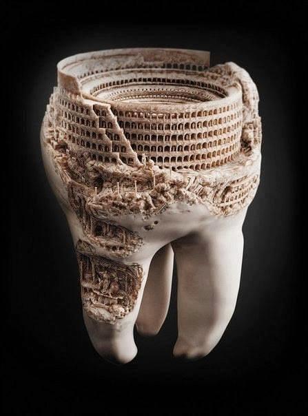 هواية غريبة لطبيب روسي فن النحت على الأسنان #غرد_بصورة 2