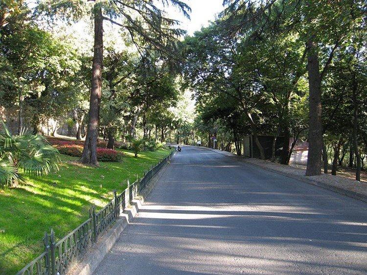 حديقة ييلديز #اسطنبول #تركيا