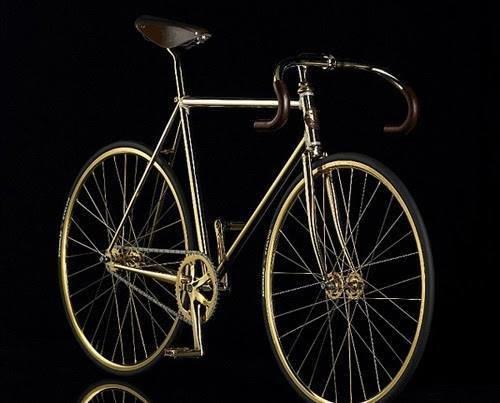 الدراجة الأغلى في العالم من #الذهب عيار 24 ومزيّنة ب 600 قطعة كريستال-2