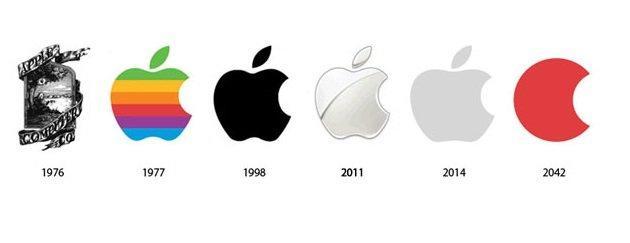 شعار شركة آبل Apple بين الماضي وكيف ستبدو في المستقبل #تقنية