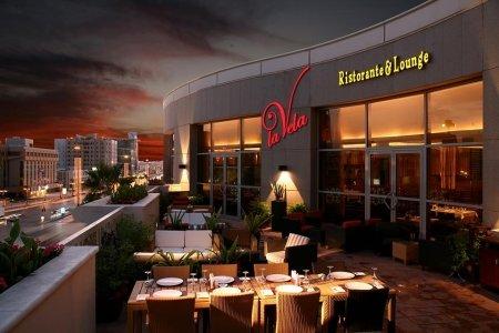 مطعم لا فيلا سنتريا مول، وسط مدينة الرياض، #الرياض