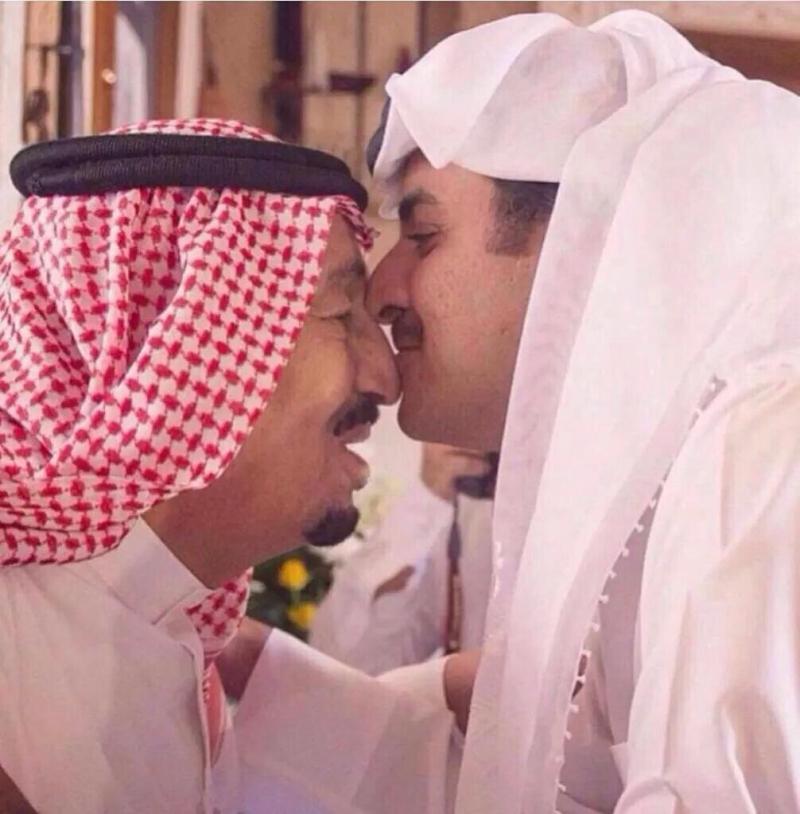 صور متداولة في هاشتاق #جيش_قطر_يتجه_لسحق_الحوثي