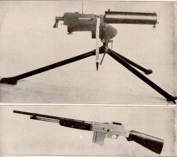 أسلحة من الحرب العالمية الأولى (1914-1918) -٢