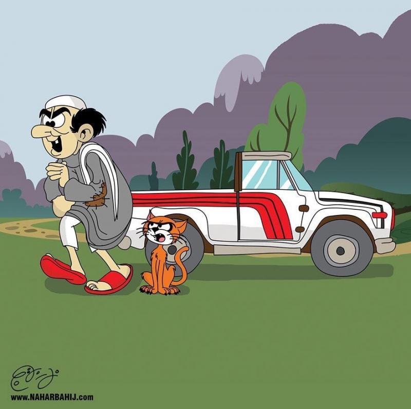 الشاب الأردني نهار بهيج يقوم بتعريب الشخصيات الكرتونية الأجنبية #كاريكاتير - صورة ٣