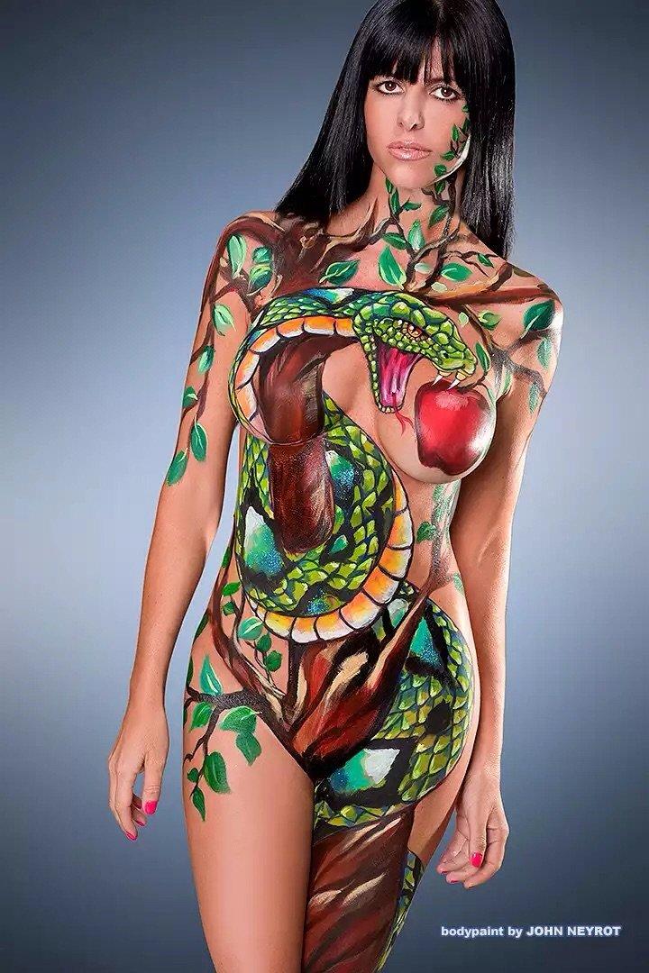 الرسم على الجسم - صورة ٧