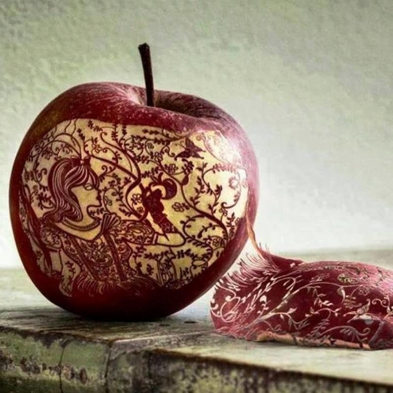 فن تقشير التفاح #غرد_بصورة-6