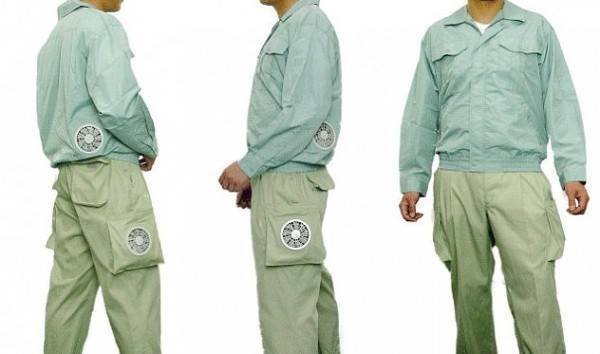 ملابس مكيّفة في اليابان لمواجهة الحرارة العالية #غرد_بصورة -صورة 1