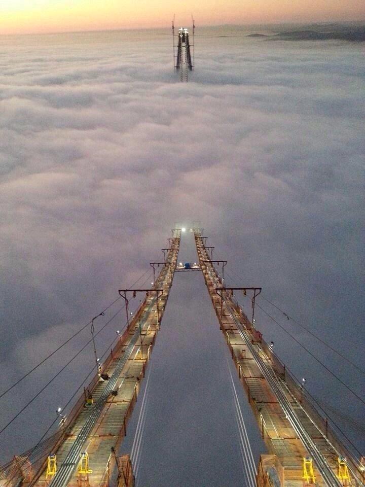 جسر البوسفور #تركيا
