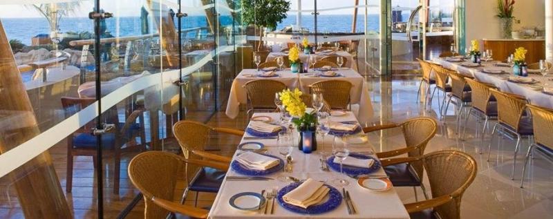مطعم باب اليم - فندق #برج_العرب #دبي ٣