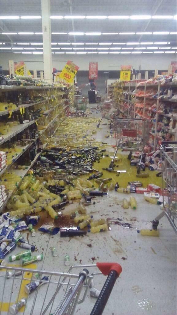 صور أولية متداولة من زلزال تشيلي المدمر #Chile ٣