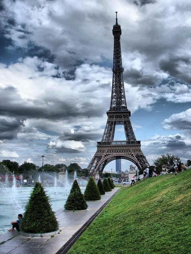 برج إيفل في #باريس