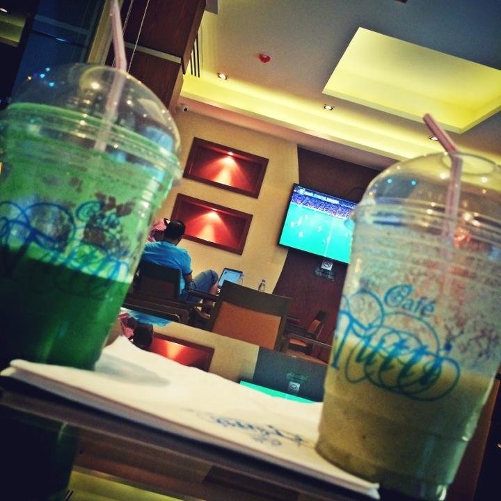 مقهى توتي -صلاح الدين - شارع الأمير ناصر بن فرحان #الرياض