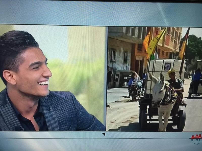 مقابلة #محمد_عساف على ام بي سي ورسائل أصدقاء ومعجبي محمد عساف -11