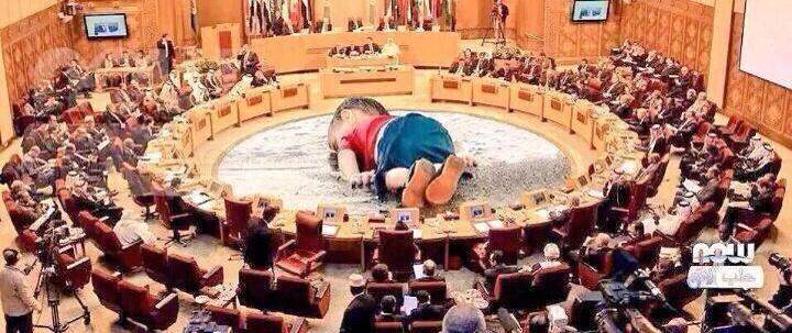 كاريكاتير #غرق_طفل_سوري ومجلس الأمن