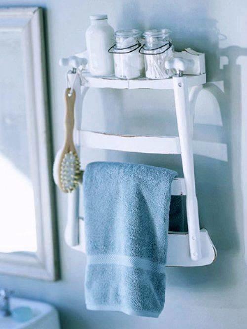افكار لاعادة تجديد الكراسي ال#قديمة او لاستغلالها في اشياء اخرى صوره 6