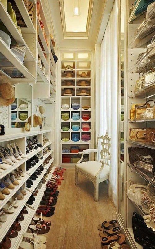 افكار لترتيب #الاحذيه في #غرفة_الملابس #غرد_بصوره 3
