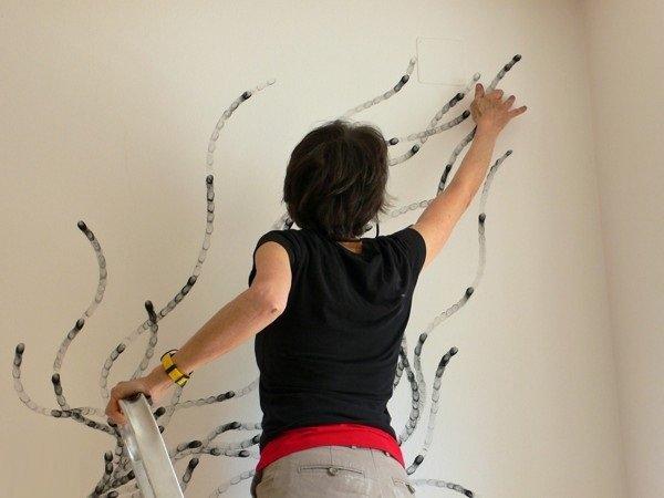 فنانة تقوم برسم لوحات مدهشة بإستخدام أصابعها فقط #غرد_بصورة -8