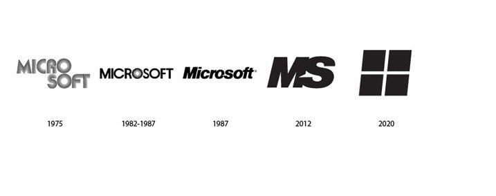 شعار شركة مايكروسوفت Microsoft بين الماضي وكيف ستبدو في المستقبل #تقنية