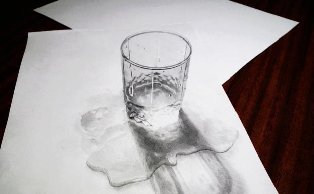 ابداع في فن الرسم #غرد_بصورة -4