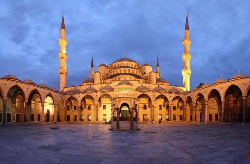 مسجد السلطان أحمد في #اسطنبول #تركيا صورة 7