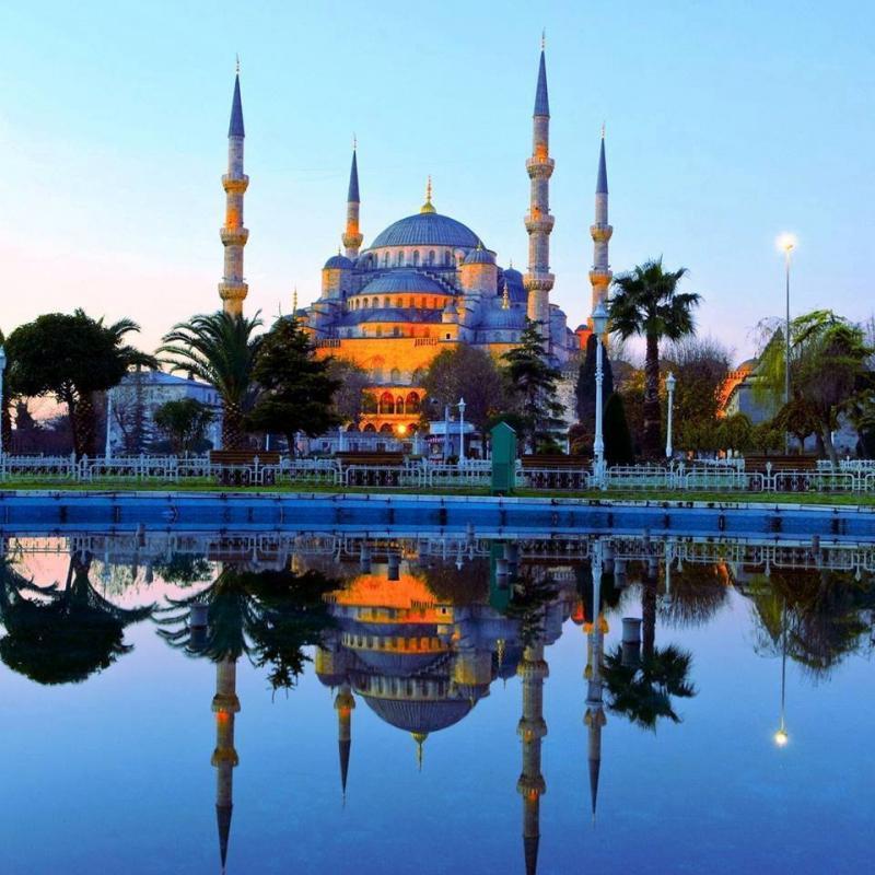 مسجد السلطان أحمد في #اسطنبول #تركيا صورة 9