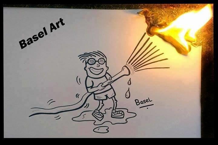 ابداع في فن الرسم #غرد_بصورة 3