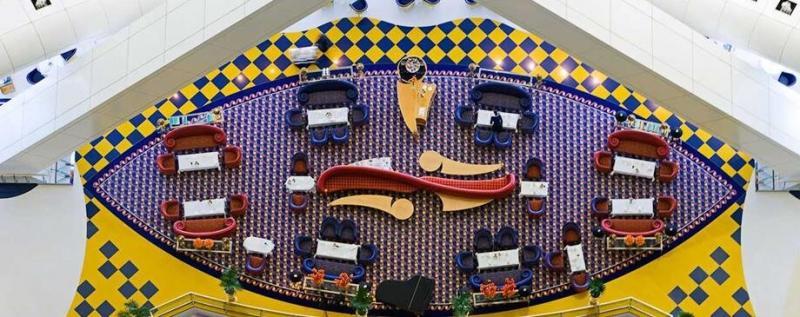 مطعم صحن الدار - فندق #برج_العرب #دبي ٣