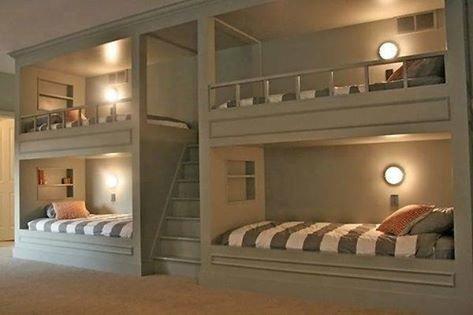 #غرف_نوم مشتركة غريبة #ديكور صورة 2