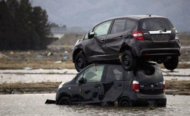حوادث سيارات عجيبة #غرد_بصورة -15