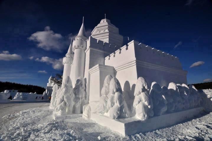 #تماثيل_الثلج بين الدقة وضخامة التصاميم #غرد_بصوره 8