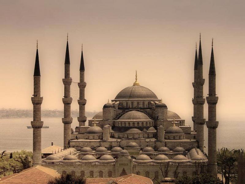 مسجد السلطان أحمد في #اسطنبول #تركيا صورة 2