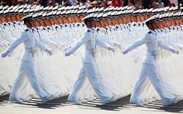 الانضباط العسكري - حركات المشاة