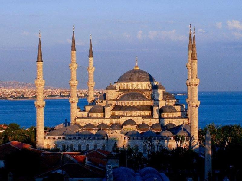 مسجد السلطان أحمد في #اسطنبول #تركيا صورة 6