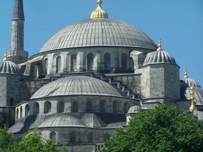 مسجد السلطان أحمد في #اسطنبول #تركيا صورة 3